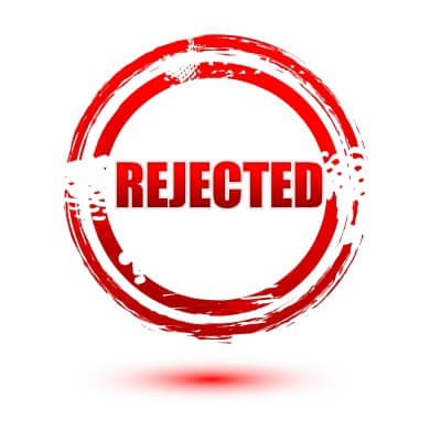 audition rejection